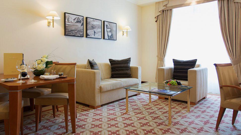 Kempinski Grand Hotel Des Bains St. Moritz Grand Deluxe Suite