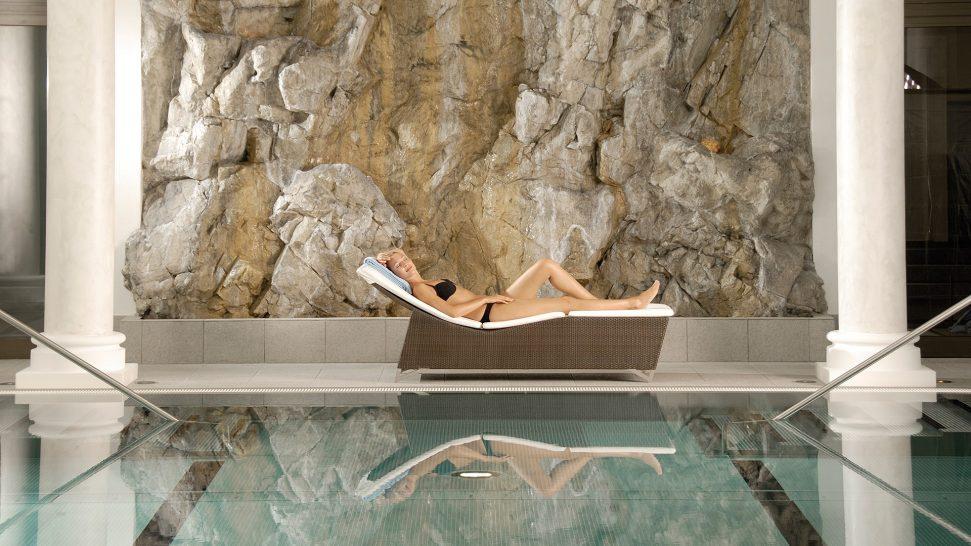 Kempinski Grand Hotel Des Bains St. Moritz Pool