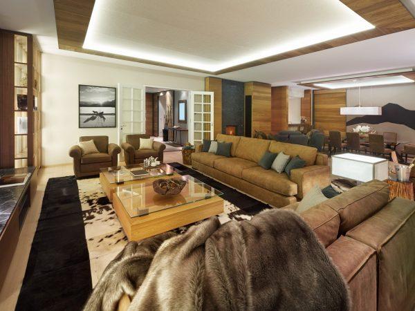 Kempinski Grand Hotel Des Bains St. Moritz Premier Four Bedroom Chalet Suite
