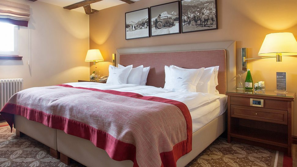 Kempinski Grand Hotel Des Bains St. Moritz Tower Suite