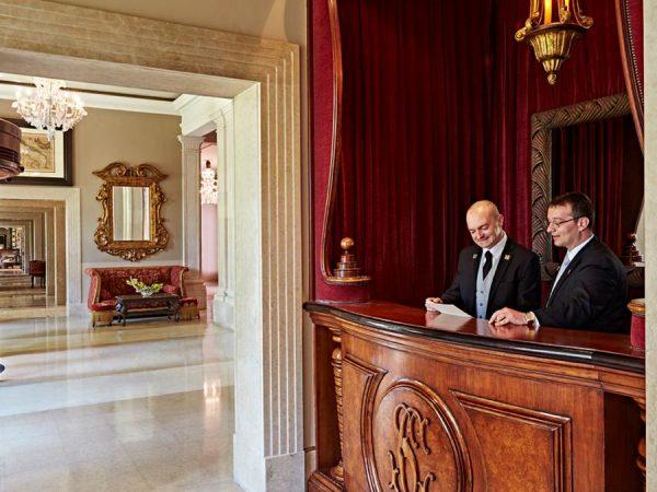 Kempinski Hotel lobby