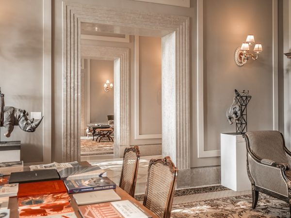 Kempinski Hotel lounge