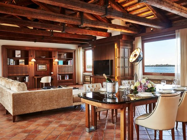 Kempinski Hotel san clemente suite living room