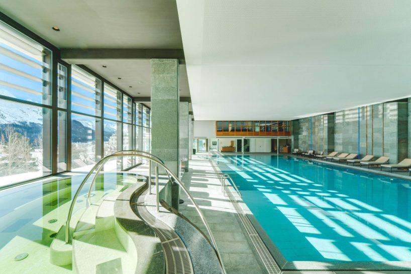 Kulm Hotel St Moritz Spa Pool