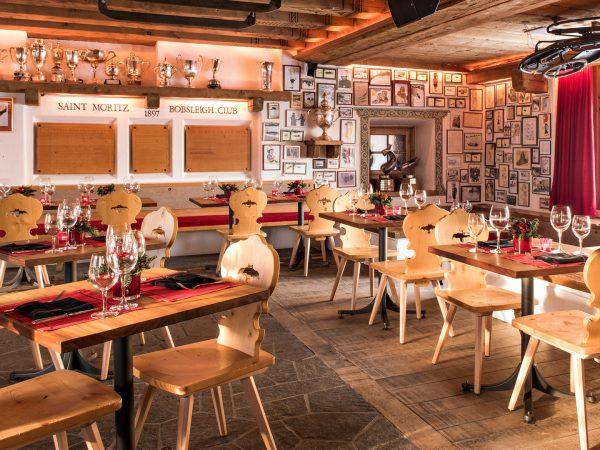 Kulm Hotel St. Moritz Bars & Lobby