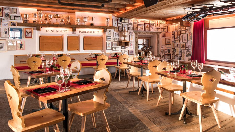 Kulm Hotel St. Moritz Bob Restaurant