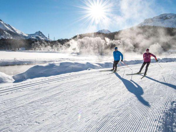 Kulm Hotel St. Moritz Cross country skiing