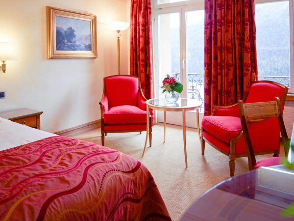 Kulm Hotel St. Moritz Deluxe Room