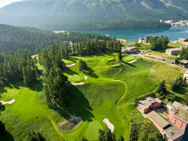 Kulm Hotel St. Moritz Garden View