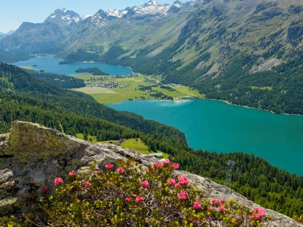 Kulm Hotel St. Moritz Hiking