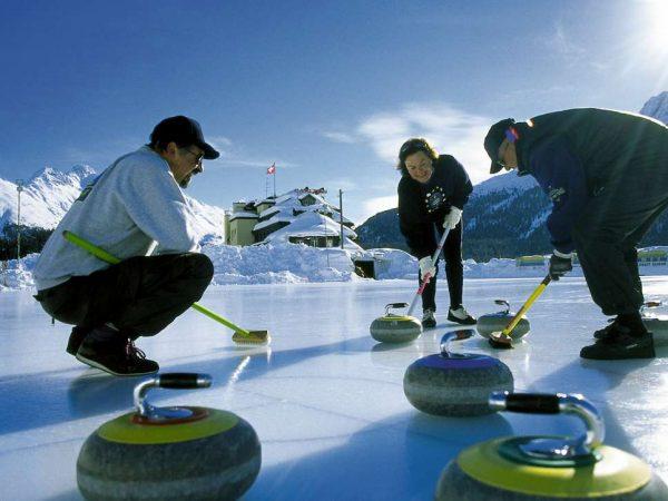 Kulm Hotel St. Moritz Ice sports