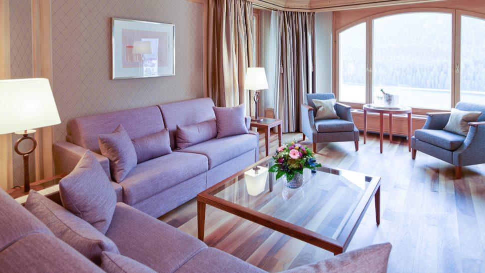 Kulm Hotel St. Moritz Luxury Suites