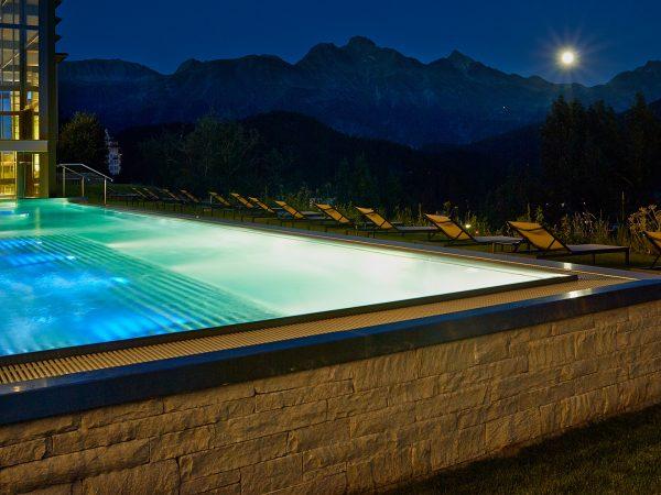 Kulm Hotel St. Moritz Outdoor Pool