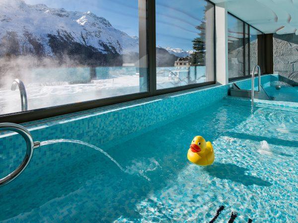 Kulm Hotel St. Moritz Pool