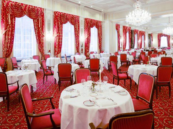 Kulm Hotel St. Moritz Restaurant