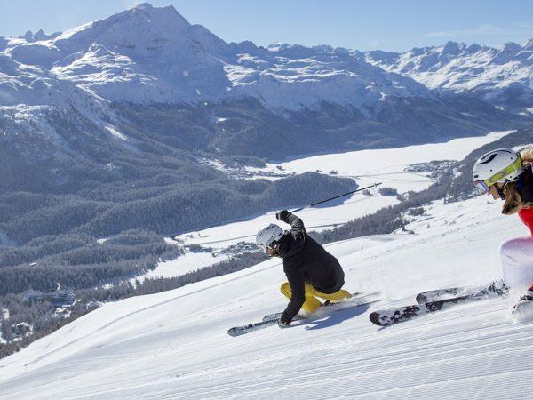 Kulm Hotel St. Moritz Skiing & snowboarding