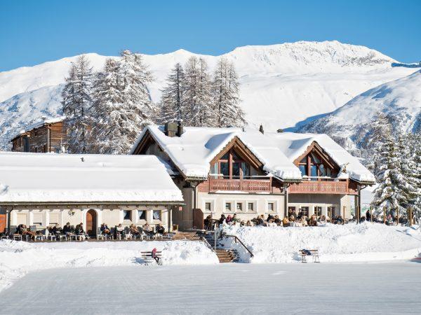 Kulm Hotel St. Moritz Winter