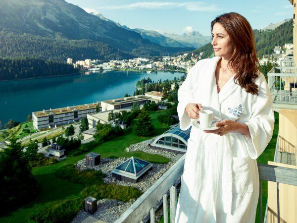 Kulm Hotel St. Moritz sammer View