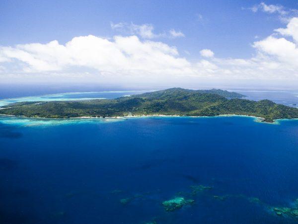 Laucala Island Aerial North Coast