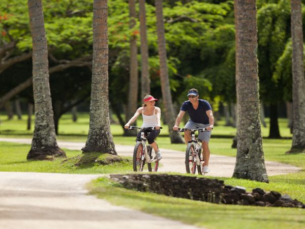 Laucala Island Cycling