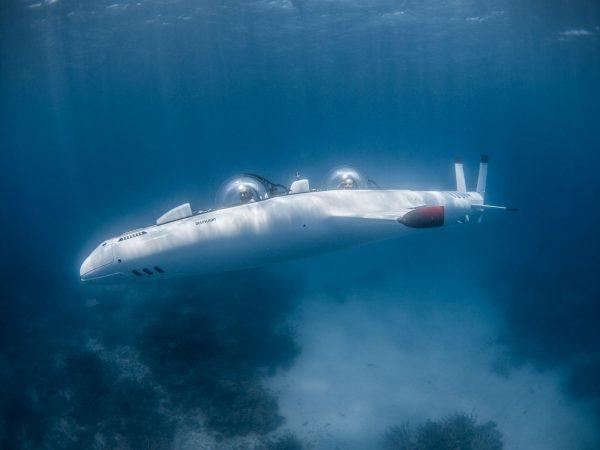 Laucala Island DeepFlight Susbmarine