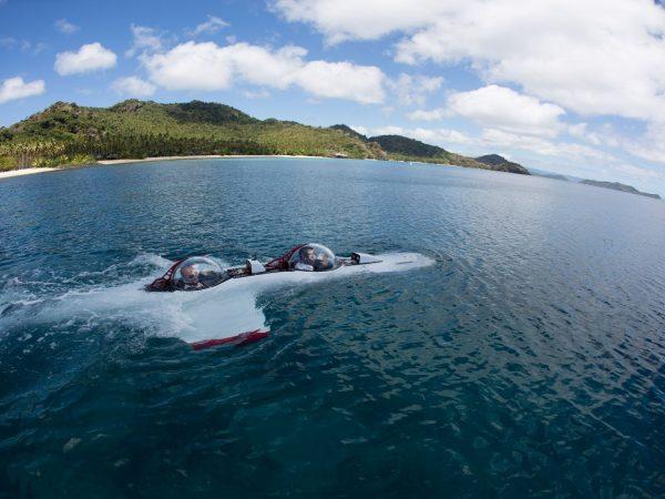 Laucala Island DeepFlight Super Falcon Submarine