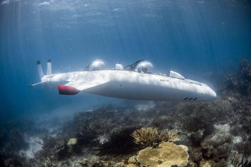 Laucala Island Fiji Submarine