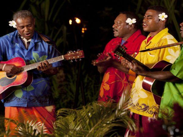 Laucala Island Fijian Cultural Night Music Band