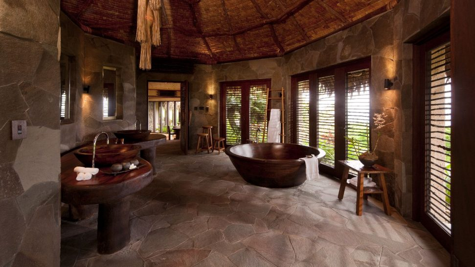 Laucala Island Hilltop Estate Bathroom