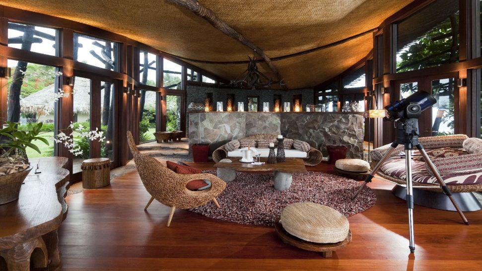 Laucala Island Hilltop Estate Villa Lounge