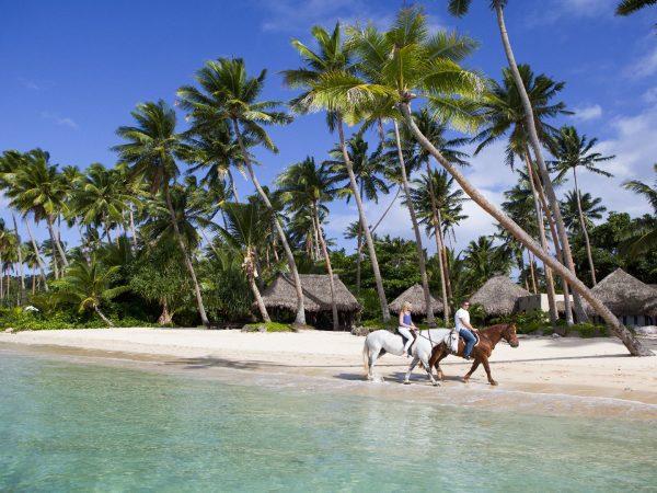 Laucala Island Horseback Riding