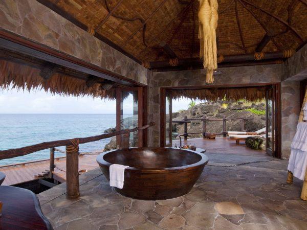 Laucala Island Overwater Villa Bathroom