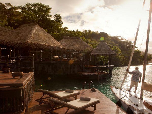 Laucala Island Overwater Villa Private Jetty