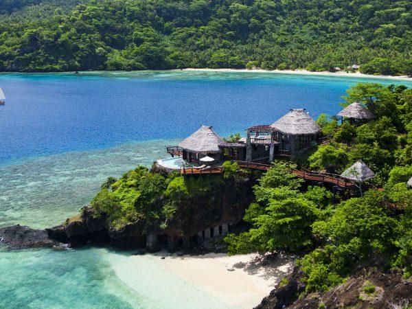 Laucala Island Peninsula Villa Aerial