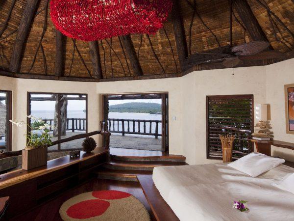 Laucala Island Peninsula Villa Bedroom
