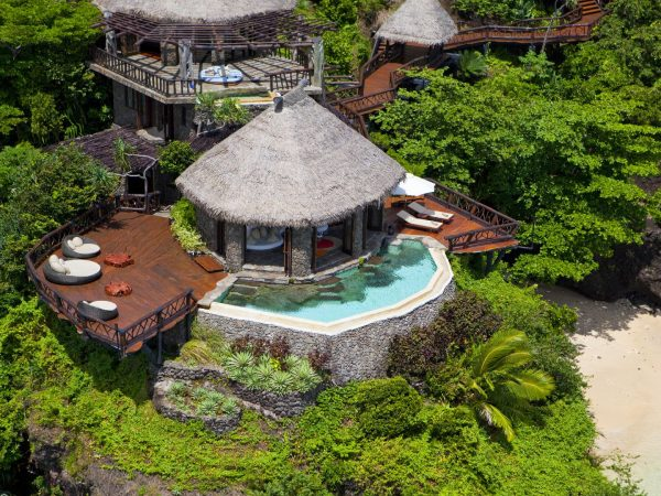 Laucala Island Peninsula Villa Lounge