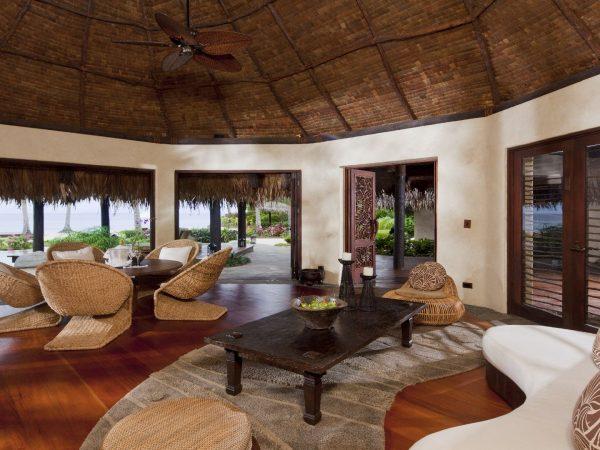 Laucala Island Plantation Villa Two Bedroom Lounge