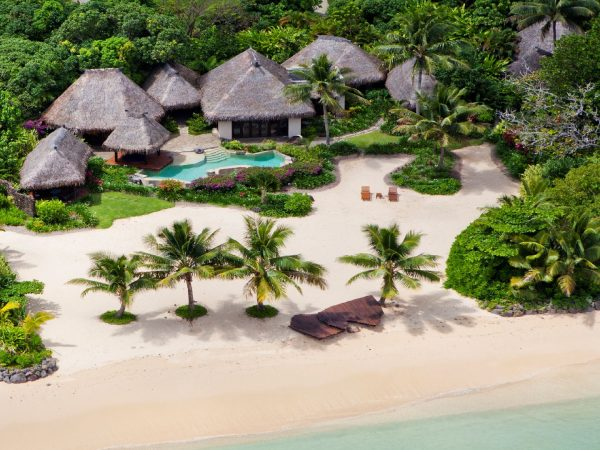 Laucala Island Plantation Villa Aerial One Bedroom Villa