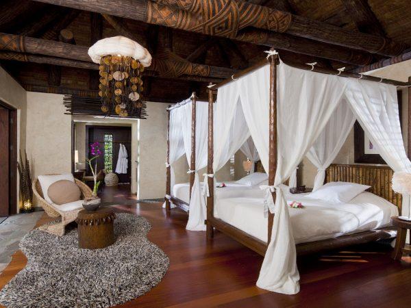 Laucala Island Plantation Villa Three Bedroom Twin Bedroom