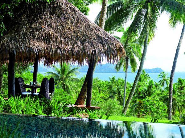 Laucala Island Plateau Outdoor Dining Pavilion