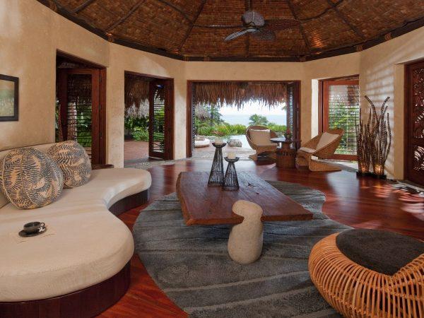 Laucala Island Plateau Villa Lounge