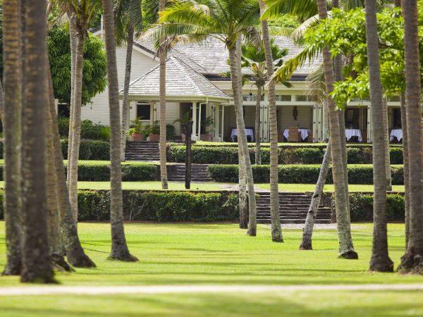 Laucala Island Restaurant Plantation House