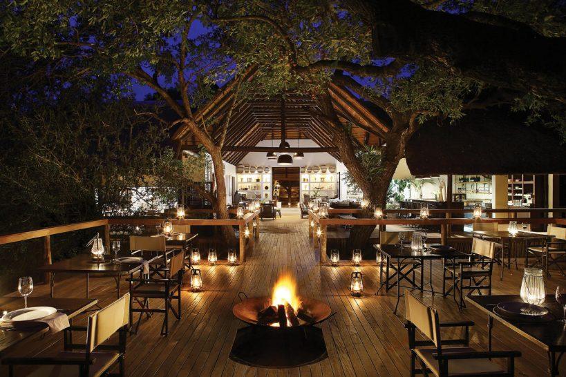 Londolozi Tree Camp Bar