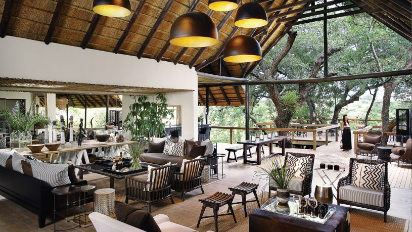 Londolozi Tree Camp Deck Area