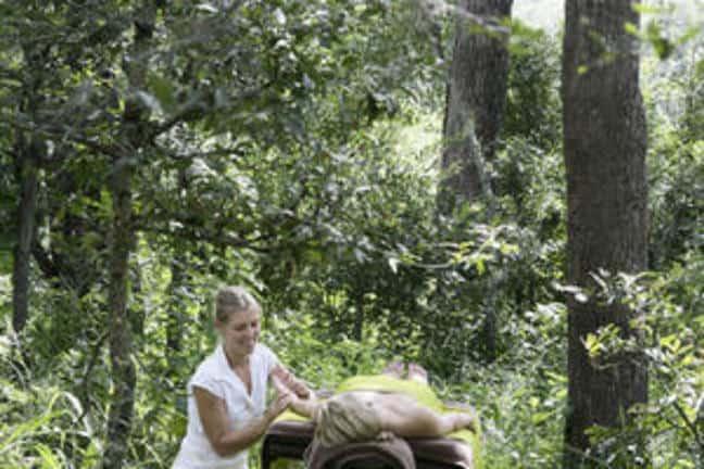 Londolozi Tree Camp Massage