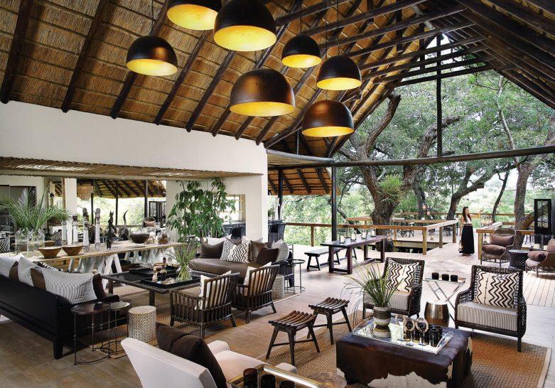 Londolozi Tree Camp Restaurant