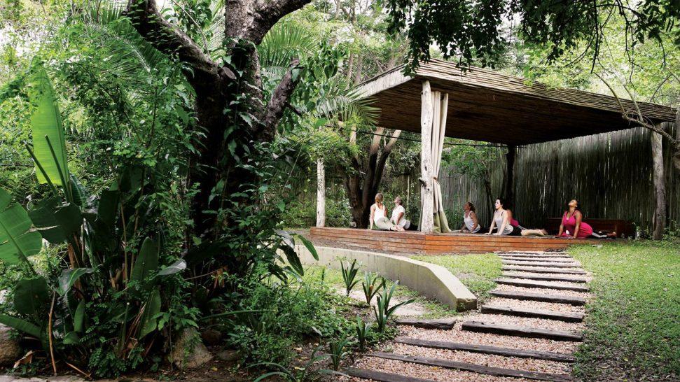 Londolozi Tree Camp Yoga