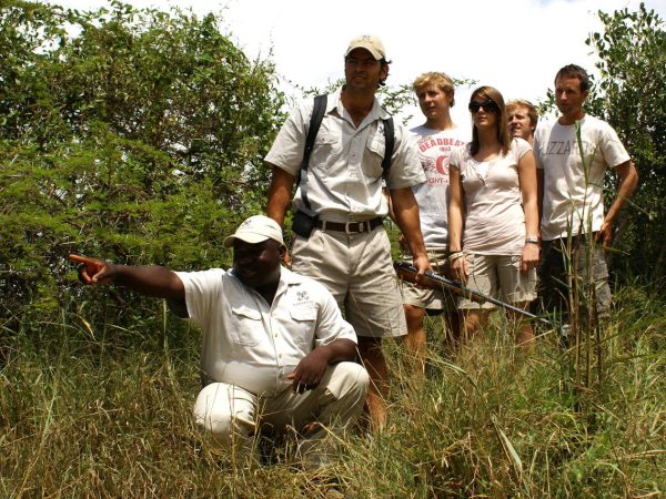 Londolozi Varty Camp Bush Walks