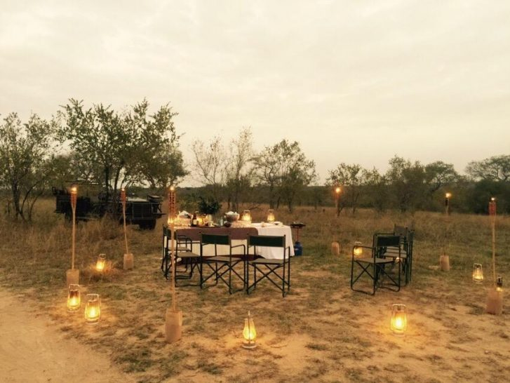 Londolozi Varty Camp Dining