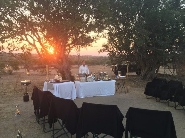 Londolozi Varty Camp Private Dining